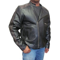 Amerileather Men's Dual Leather Stripe Motorcycle Jacket|https://ak1.ostkcdn.com/images/products/2753722/Amerileather-Mens-Dual-Leather-Stripe-Motorcycle-Jacket-P10942970a.jpg?_ostk_perf_=percv&impolicy=medium