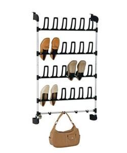 Over The Door 12-pair Shoe Rack