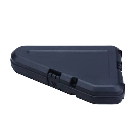 Triangle Shaped Tactical Single Pistol Case