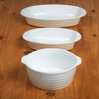Certified International 3 Pieces Bakeware Set