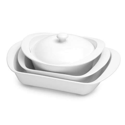 Certified International 7 Pieces Porcelain Bakeware Set