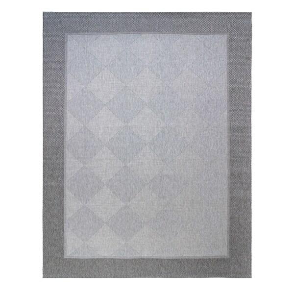 """Studio by BJ Verze Silver Area Rug (7'10"""" x 10') by Gertmenian"""