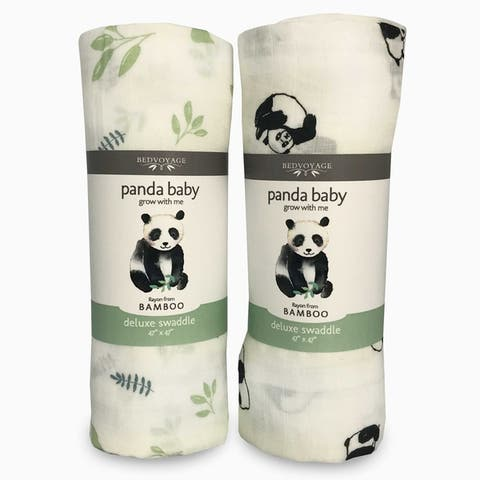 Panda Baby - Bamboo Muslin Swaddle for Infants and Baby