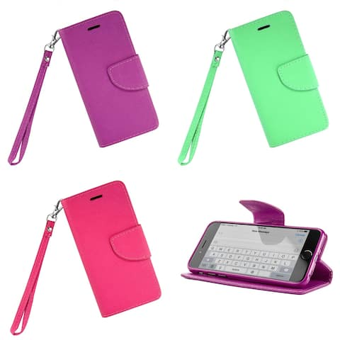 Cellphone Wallet Case with Kickstand for iPhone 6 Plus 6s Plus