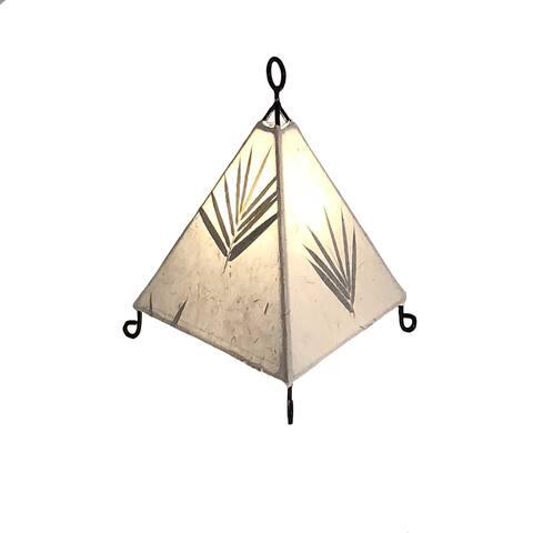 Mini Paper Pyramid Bamboo
