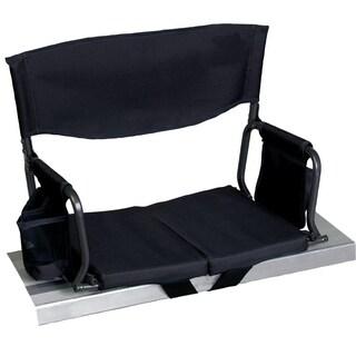 RIO Gear Bleacher Boss Compact Stadium Seat Black