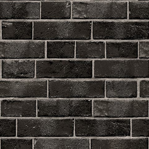 Brick White Peel and Stick Wallpaper