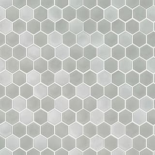 Hexagon Tile Chrome