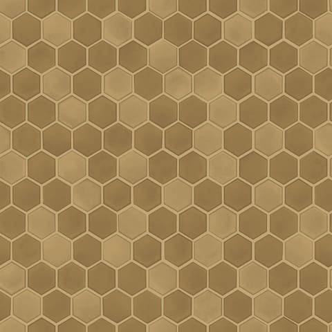 Hexagon Tile Chrome