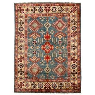 Pasargad DC Genuine Super Kazak Lamb's Wool Rug - 5′ × 6′10″