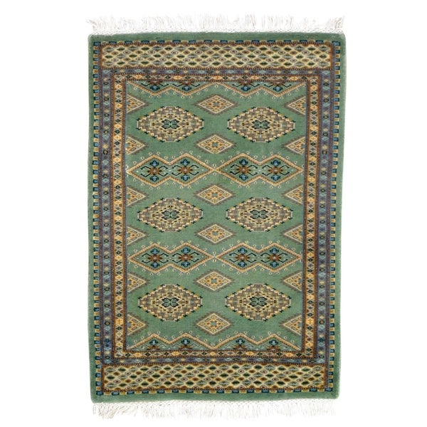 Pasargad DC Fine Pak Bokhara Hand-Knotted Rug - 2′ × 3′