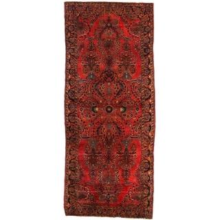 Early 20th Century Antique Persian Sarouk Rug - 2′6″ × 6′2″