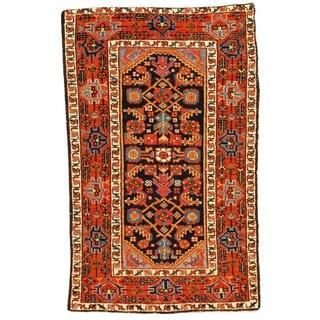 Late 19th Century Antique Persian Karajeh Rug - 2′6″ × 4′