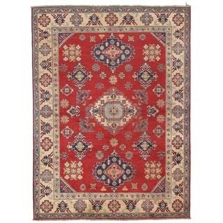 Pasargad DC Genuine Super Kazak Lamb's Wool Rug - 5′ × 6′8″