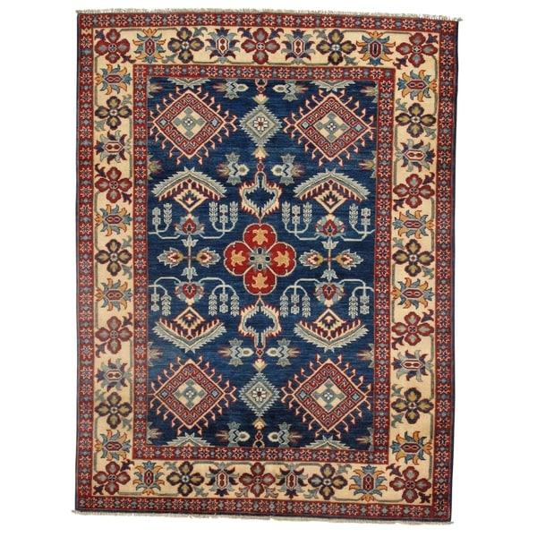 Pasargad DC Genuine Super Kazak Lamb's Wool Rug - 5′ × 6′6″