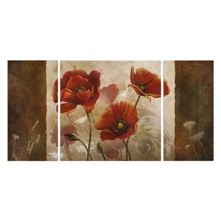Wexford Home 'Poppy Morning' A Premium Multi Piece Art