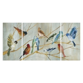 Wexford Home 'Spring Migration' 3-piece Wall Art