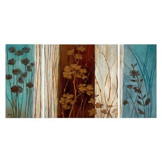 Wexford Home 'Summer Silhouette II' Canvas Wall Art (Set of 3)