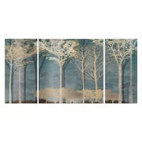 Wexford Home 'Into the Woods' 3-piece Wall Art Set