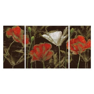 Wexford Home 'Golden Poppy' Canvas Premium Multi Piece Art