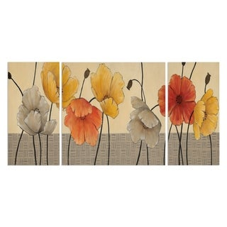 Wexford Home 'Spring Day II' Premium Canvas Multi-piece Hand-wrapped Giclee Wall Art