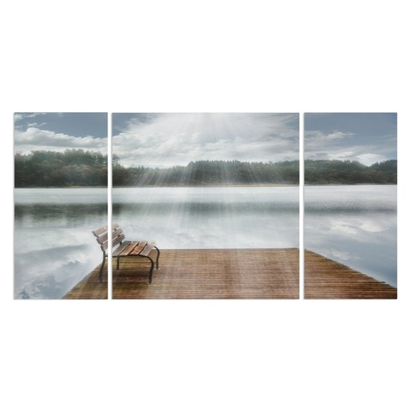 Wexford Home 'One Moment in Time' Premium Canvas Multi-piece Giclee Wall Art