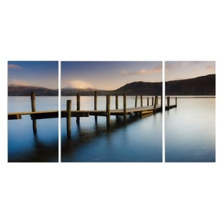 Wexford Home 'Brandlehow Bay Jetty' A Premium Multi Piece Art