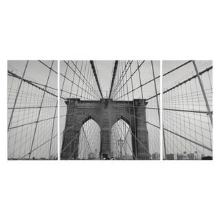 Wexford Home 'Brooklyn Bridge' A Premium 3-piece Art Set