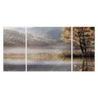 'Whispers' 3-piece Canvas Wall Art