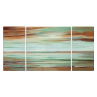 'Endless Sky' 3-piece Canvas Wall Art
