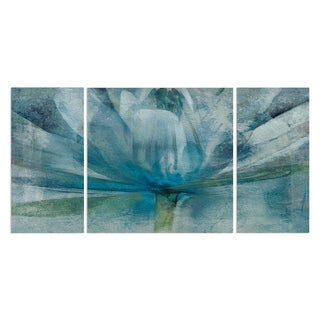 Wexford Home 'Blue Awakening' Canvas Premium Multi Piece Art