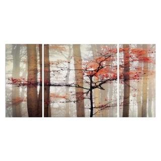Wexford Home 'Orange Awakening' Premium Multi-Piece Art