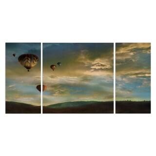 Wexford Home 'Sunset Rendezvous' Premium 3-piece Art Set