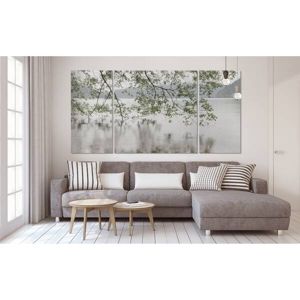 Shop Wexford Home 'Lake Crescent Rainy Day' Premium 3-piece ... on riverside home, sunny day home, garden home, easter home, gloomy day home, cloudy day home, fun home, health home, black and white home, paul reubens home, cold home, blu home, farm home,