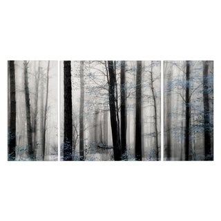 Wexford Home 'Waiting For Spring-A' Premium Canvas 3-Size Multipiece Giclee Art
