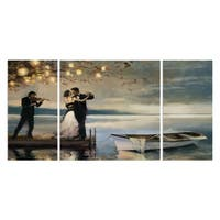 'Twilight Romance' Canvas Wall Art