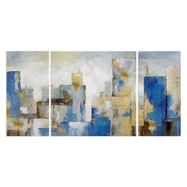 'City Blues II' Premium Multi-piece Art