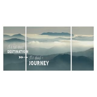 'The Journey' 3-piece Canvas Wall Art