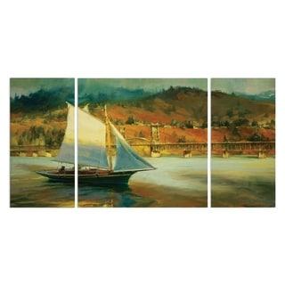 Wexford Home 'Autumn Sail' Premium Multi-piece Art