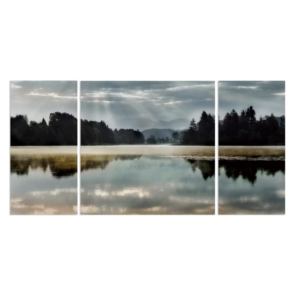 Wexford Home 'Morning Bliss I' Canvas Premium Multi Piece Art