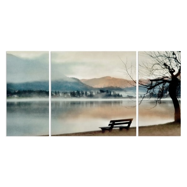 Wexford Home 'Inner Peace' Canvas Wall Art (Set of 3)