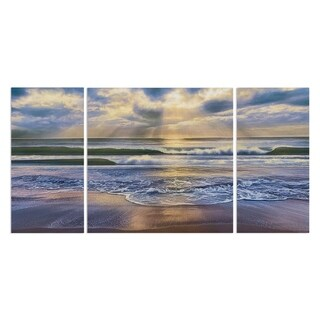 Wexford Home 'Breaking Through' Premium Canvas Multi-piece Hand-wrapped Giclee Wall Art