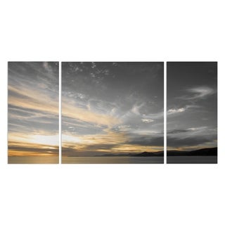 'Sky Above' 3-piece Canvas Wall Art