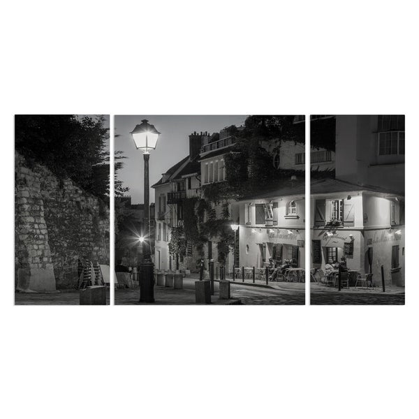 Wexford Home 'Twilight at Maison Rose' Premium Multi Piece Gallery-wrapped Canvas Art Print Set
