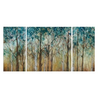 Wexford Home 'Sunlit Birch Grove' Premium Multi Piece Gallery-wrapped Canvas Art Print