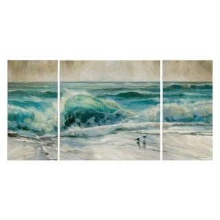 'Water Music' 3-piece Canvas Wall Art