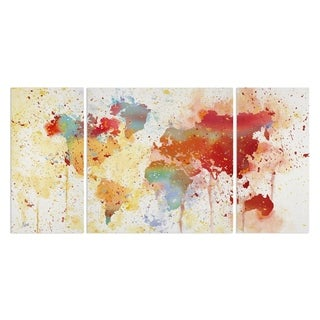 Wexford Home 'Traveled The World' Premium 3-piece Art Set