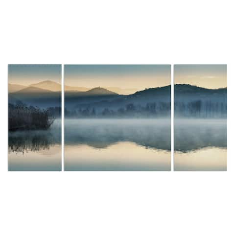 Wexford Home 'Quiet Morning' Canvas Premium Multi Piece Art