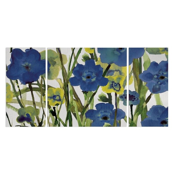 Wexford Home 'Picking Flowers' Canvas Premium Multi Piece Art