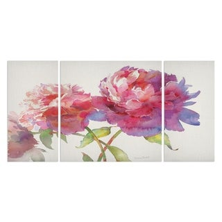 'Prize Peonies II' Canvas Premium Multi-piece Art